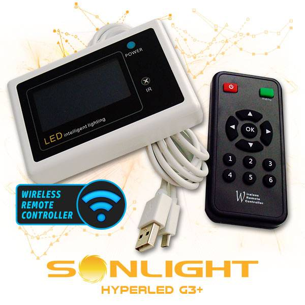 Sonlight G3+ Wireless Remote Controller Led