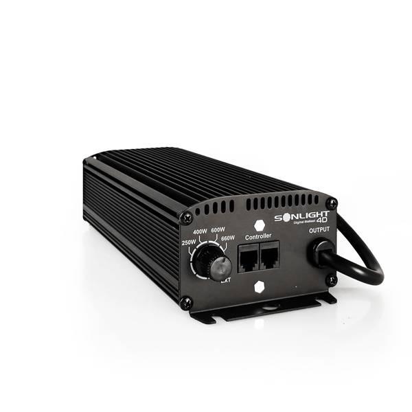 Alimentatore Elettronico NEW SONLIGHT Digital Ballast 4D (Dimmer 250 / 400 / 600W / SL)